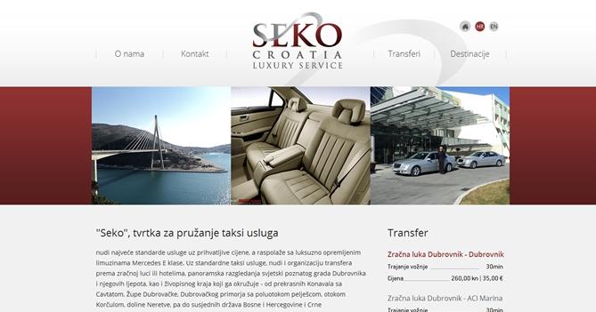 Taxi prijevoz Seko