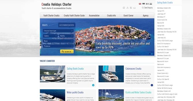 Croatia Holidays Charter