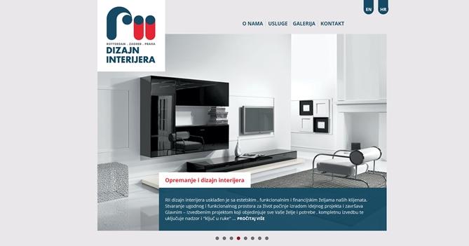 RII dizajn interijera
