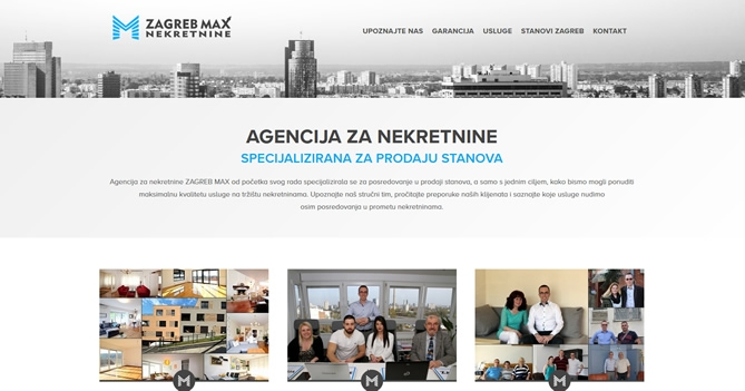 ZAGREB MAX - Agencija za nekretnine