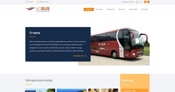 VG bus putovanja