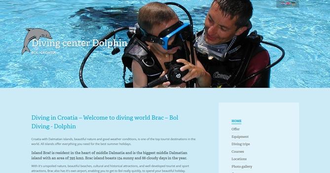 Diving Dolphin Bol Brač