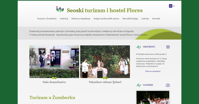 Seoski turizam i hostel Flores