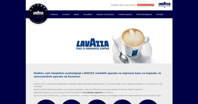 Automat caffe - Lavazza