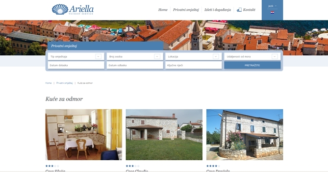 Turistička agencija Ariella